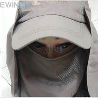 1X Outdoor Sport Hiking Fishing Cap  Neck Face Travler Sun Protection Block Flap Hat free shipping