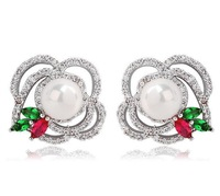 cute pearl earring for women stud earrings tiny stud earrings silver stud earrings sweet stud earrings for women M841