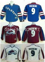 Youth Colorado Avalanche Hockey Jerseys #9 Matt Duchene Jersey Home Burgundy Jerseys