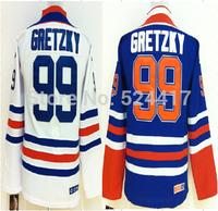 Youth Ice Hockey Jersey #99 Gretzky Jersey Best quality Authentic Jersey