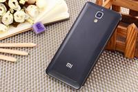 New Luxury Metal Brushed Hard Case Slim Phone Back Cover for Xiaomi 4 Mi 4 Mi4