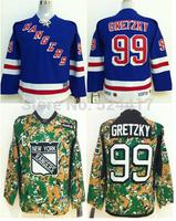 Youth New York Rangers Hockey Jerseys #99 Wayne Gretzky Jersey Cheap Jerseys