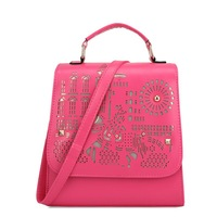 30PCS FREE SHIPPING China Classical Hollow out multifunctional college style women shoulder bag#MHB020