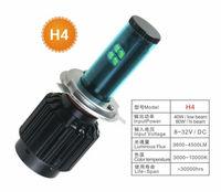 80W car Cree LED headlight,3600Lm H4 hi/lo beam