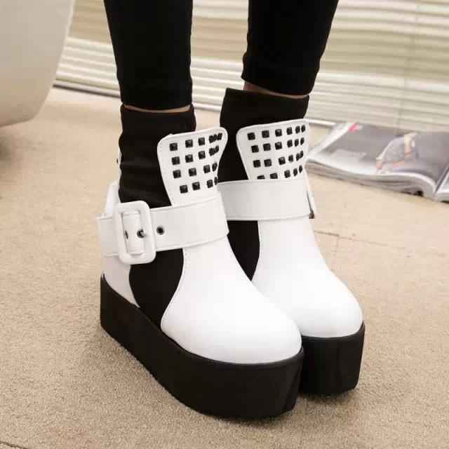 2014 осень зима туфли на платформе лифт туфли женские ...