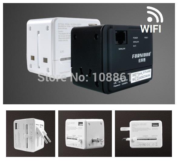 Электрическая вилка FORNIDOO Comverter Wifi USB AU ST-002W