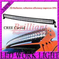 CREE 3D Reflector 42 INCH 240W LED WORK LIGHT BAR SPOT FLOOD BEAM LED DRIVING LIGHTS FOR OFFROAD ATV 4x4 TRUCK SECKILL120W/180W