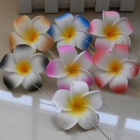 MEIHON handmade / Belt clip 6cm plumerias romantic artificial flower   PE frangipani hair accessory accessories