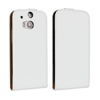 2014 HOT New elegant Vertical Cover luxury Noble concise Flip Leather Case For HTC ONE HTC M8 ONE 2 Up and Down free shipping