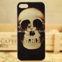 Cool forever love skull art hard phone case cover for iphone 5 5S I5T1050