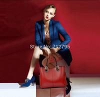 Women's new tide large capacity soft cowhide Handbag Fashionable Genuine leather Shoulder bag diagonal lady bag