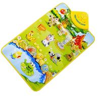 Hot! Kids Baby Animal Music Touch Play Singing Gym Carpet Mat Toy