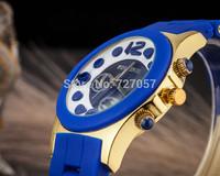 New 2014 1 PC classic watched women wrist quartz watch gold Christmas gifts