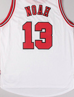 New arrival!14-15 Chicago #13 Noah new style & Materials Basketball jersey,Embroidery logos high quality free shipping