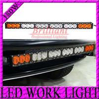 FREE DHL SHIPPING 33 INCH 180W CREE LED LIGHT BAR FOR OFFROAD TRUCK 4X4 UTV EXTERNAL LIGHT BAR COMBO DRIVING LED WORK LIGHT 120W