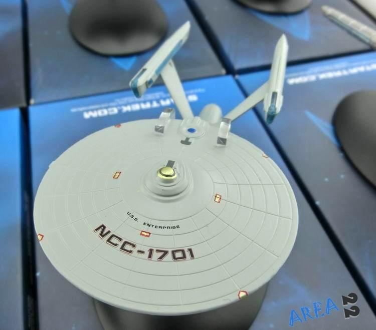 STAR TREK Starships Collection, USS ENTERPRISE NCC-1701 Metal Model, Eaglemoss Collectables, Die Cast Model(China (Mainland))