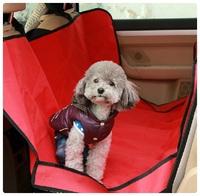 free shipping car pet transport seat covers pad dog mat cat mats anti-hair waterproof back seat accessories universal cushion