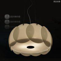 American designer lamp 6015-3 modern minimalist living room dining round glass chandelier bar Continental Creative