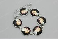 Justin Bieber Photos Inspired Bracelet Every Day Bracelet ,Adjustable Sizes ,Great gift, min order $10.0 3pcs #025