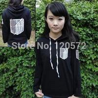 Japan Anime game Attack on Titan Shingeki no Kyojin Scouting Legion Allen Long sleeve T-shirt hoodies