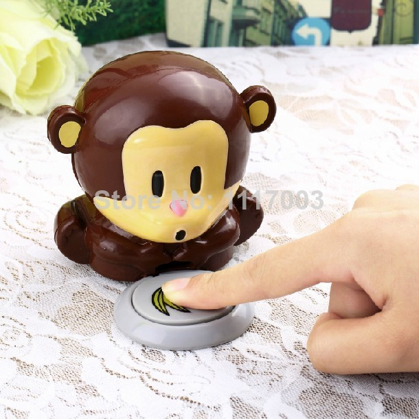Free Shipping 1Piece Monkey Dryer Blower Portable Blowing Nails Dryer Fingernail Dryer Nail Salons Stoving Implement(China (Mainland))