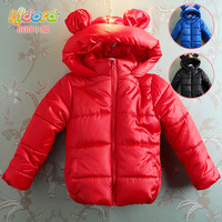 Fashion children's clothing winter bear clip cotton-padded coat thickening wadded jacket cotton-padded mouse shaper