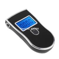 2pcs/lot Digital Breath Alcohol Tester Breathalyzer  Prefessional Police Parking Car Detector Gadget