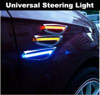 Wholesale Universal Steering Light Fender Side Lamp Auto Car LED Side Lights Marker Turn signal Lights Amber 100PCS/lot