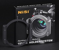 NiSi 100mm quick realise square Filter Holder Aviation aluminum For for over 18mm wide angle lens
