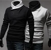 2014 new Men Fleece Hoodie sweatshirt warm long sleeve men hooded jacket