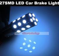 Wholesale P21/5W S25 BAY15D 1157 27SMD 5050 LED Car Brake Lights Stop Lights 200PCS/lot