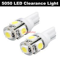 Wholesale T10 5 SMD Bulbs Car Side LED Light 194 168 W5W LED Wedge Lamp Car Styling 500PCS/lot