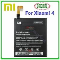 3000mAh original Xiaomi 4 battery, built-in phone mi4 battery, post free shipping