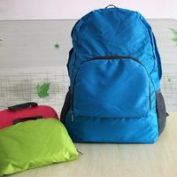The new waterproof storage bag shoulder bag folding backpack outdoor climbing
