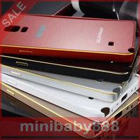 Snow  Chennai children  Metal frame Acrylic resin cover drop resistance shell phone Samsung Galaxy Note4 N9100 N9108v