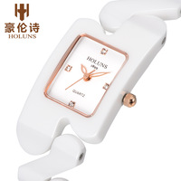 2014 new girls ceramic watches women fashion luxury top brand watch HOLUNS christmas gift,ladies wristwatches,4 colors