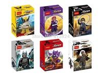 X-Men Storm Wolverine With helmet VS Magneto block toys Storm minifigures Marvel The Avengers building block toys Decool 0184