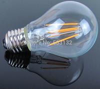 Free shipping 6W  806lm/4W 470lm  LED filament  bulb4pcs/lot LED lamp E27/B22 LED Bulb 360 degree A60 Bulb 60W replacement
