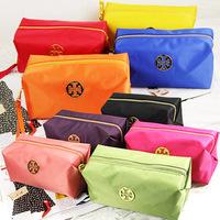 Candy color waterproof bags are tetragonal makeup bag hand bag handbag factory direct