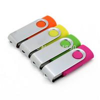 Plastic Swivel Usb Flash Dirve 64GB Pen Drives 32GB 16GB 8GB USB 2.0 Flash Memory Stick Pendrive