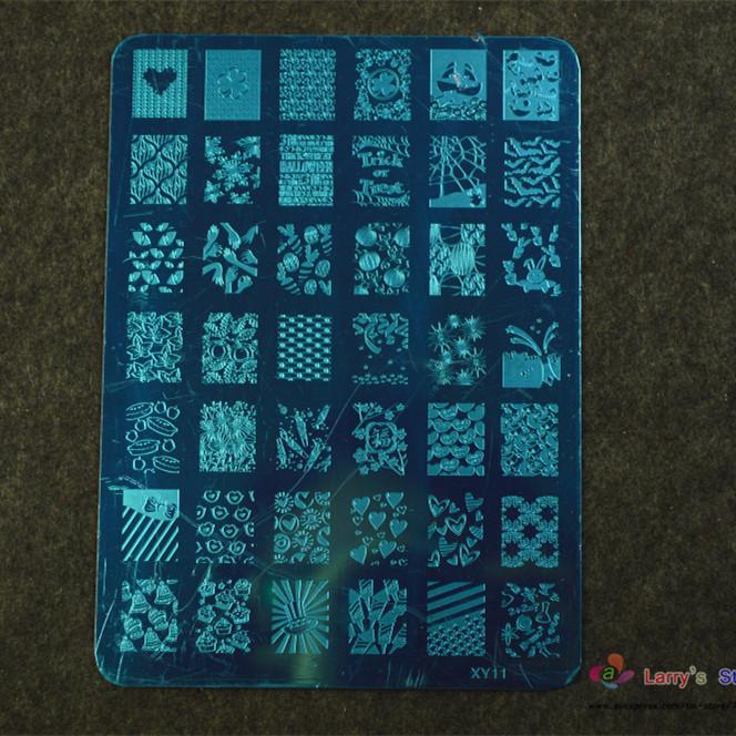 Шаблоны для дизайна ногтей Larry's Store 5pcs DIY 14.5x9.5cm NA196 managing the store