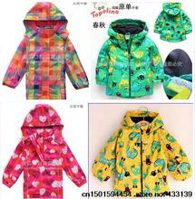 Free shipping newest Jackets for boys and girls windbreaker jacket foreign trade jacket(China (Mainland))