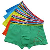 Wholesale Fashion Personality Male Underwear Cotton Boxer Shorts Soft And Comfortable Cotton Underwear Pants Njh16