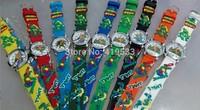 Free Shipping new 5pcs/lot Children  ninja turtles Girls Kids Boys Quartz Cartoon Watches,best gift