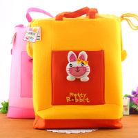 Fabric child handbag bag animal style tote bag