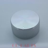 1PC 40*19mm Machined Solid Aluminum Knob FR Amp CD Player Volume Potentiometer