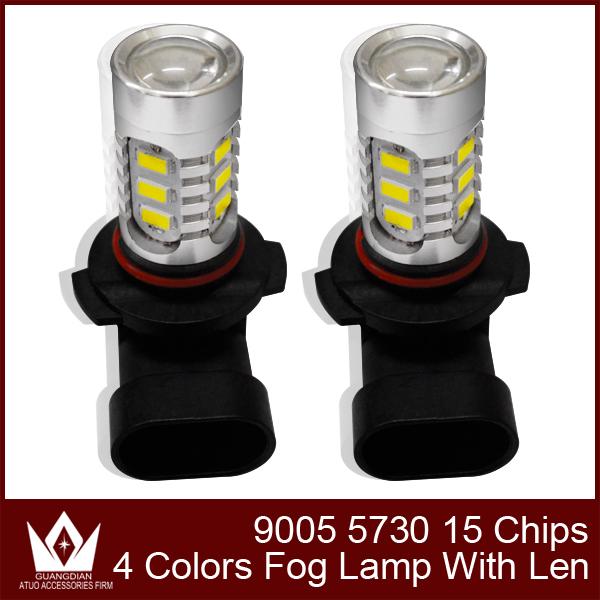 Диан гуан автомобильные светодиодные Противотуманные Фары Противотуманные Фары противотуманные фары лампы фар фары 9005 HB3 7.5 Вт 5730 led высокое яркое 10 шт. 30 шт. 50 шт.