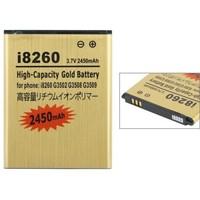 3.7V 2450mAh High Capacity Gold Battery For Samsung Galaxy Core i8260 i8262 i8268
