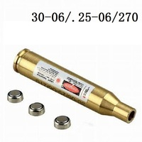 30-06 270 .25-06 Caliber Cartridge Laser Rifle Bore Sighter for Hunt Hunting Airsoft Red Laser