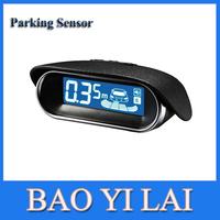 Car alarm 8 sensors auto parking assist wireless parking sensor 6 color car radar detector  car reverse backup radar rear view